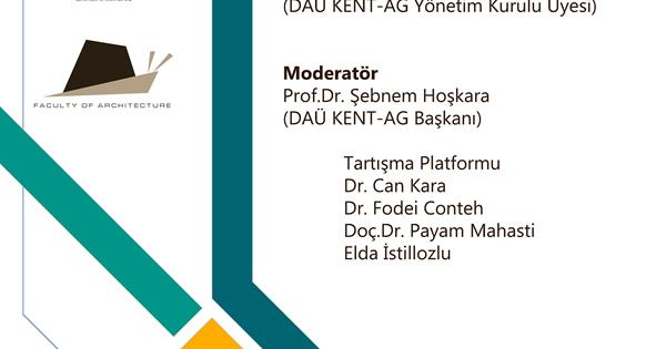 "World Town Planning Day, Event III: Discussion Platform by EMU Alumni on ""Contemporary Approaches to Urban Issues"" (available in Turkish only)"