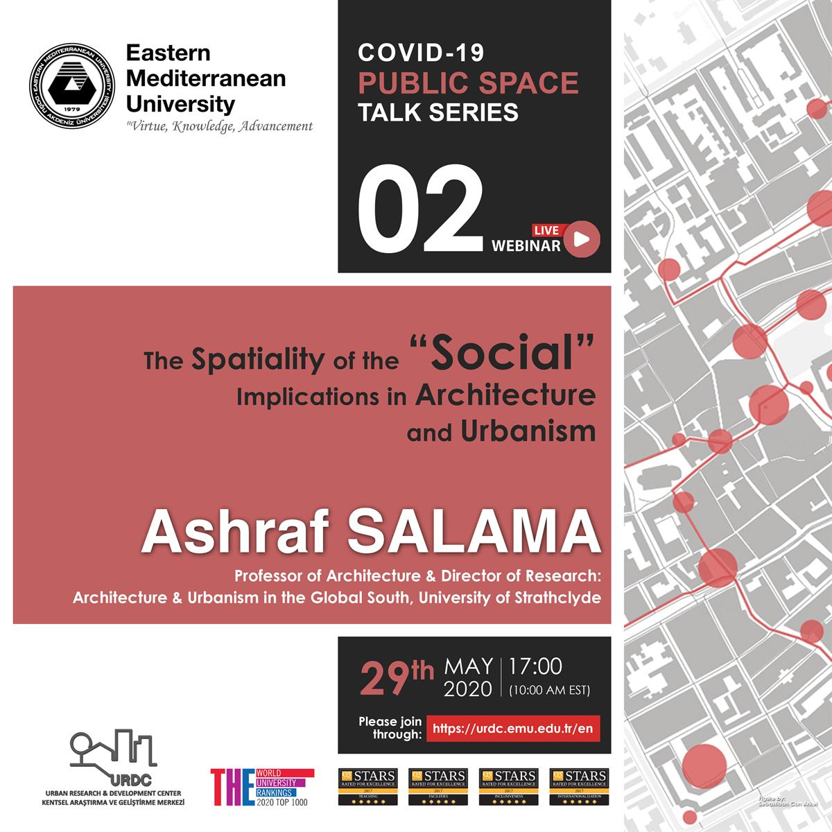 COVID-19 PUBLIC SPACE TALK SERIES - II​